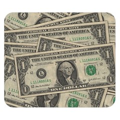 Dollar Currency Money Us Dollar Double Sided Flano Blanket (small)