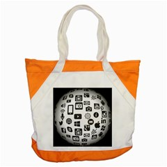 Icon Ball Logo Google Networking Accent Tote Bag