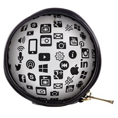 Icon Ball Logo Google Networking Mini Makeup Bags