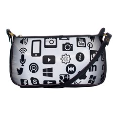 Icon Ball Logo Google Networking Shoulder Clutch Bags