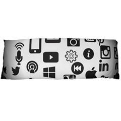 Icon Ball Logo Google Networking Body Pillow Case Dakimakura (two Sides)