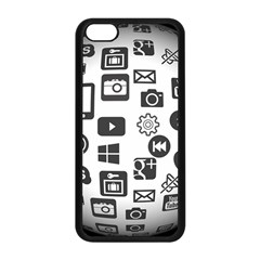 Icon Ball Logo Google Networking Apple Iphone 5c Seamless Case (black)