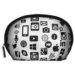 Icon Ball Logo Google Networking Accessory Pouches (large)