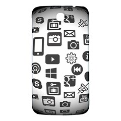 Icon Ball Logo Google Networking Samsung Galaxy Mega I9200 Hardshell Back Case