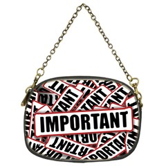 Important Stamp Imprint Chain Purses (one Side)
