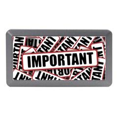 Important Stamp Imprint Memory Card Reader (mini)