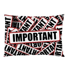 Important Stamp Imprint Pillow Case (two Sides)