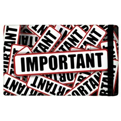 Important Stamp Imprint Apple Ipad 2 Flip Case