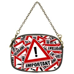 Important Stamp Imprint Chain Purses (two Sides)
