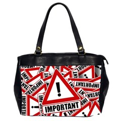 Important Stamp Imprint Office Handbags (2 Sides)