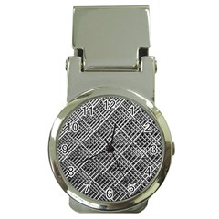Grid Wire Mesh Stainless Rods Money Clip Watches