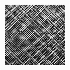 Grid Wire Mesh Stainless Rods Medium Glasses Cloth (2 Side)