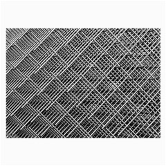 Grid Wire Mesh Stainless Rods Large Glasses Cloth