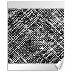 Grid Wire Mesh Stainless Rods Canvas 11  X 14