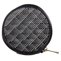 Grid Wire Mesh Stainless Rods Mini Makeup Bags