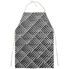 Grid Wire Mesh Stainless Rods Full Print Aprons