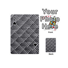 Grid Wire Mesh Stainless Rods Playing Cards 54 (mini)