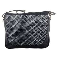 Grid Wire Mesh Stainless Rods Messenger Bags
