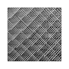Grid Wire Mesh Stainless Rods Acrylic Tangram Puzzle (6  X 6 )