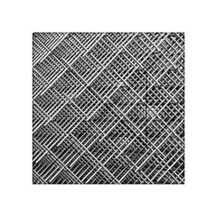 Grid Wire Mesh Stainless Rods Acrylic Tangram Puzzle (4  X 4 )