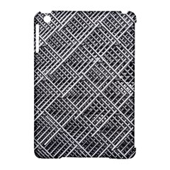 Grid Wire Mesh Stainless Rods Apple Ipad Mini Hardshell Case (compatible With Smart Cover)