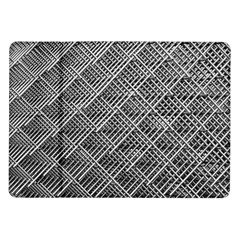 Grid Wire Mesh Stainless Rods Samsung Galaxy Tab 10 1  P7500 Flip Case