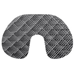 Grid Wire Mesh Stainless Rods Travel Neck Pillows