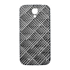 Grid Wire Mesh Stainless Rods Samsung Galaxy S4 I9500/i9505  Hardshell Back Case