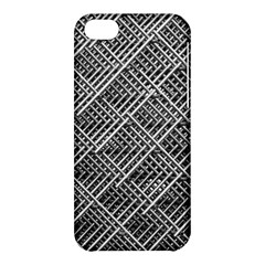 Grid Wire Mesh Stainless Rods Apple Iphone 5c Hardshell Case