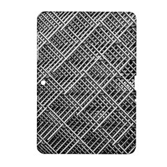 Grid Wire Mesh Stainless Rods Samsung Galaxy Tab 2 (10 1 ) P5100 Hardshell Case