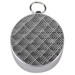 Grid Wire Mesh Stainless Rods Silver Compasses