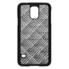 Grid Wire Mesh Stainless Rods Samsung Galaxy S5 Case (black)