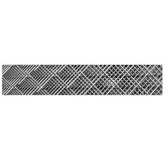 Grid Wire Mesh Stainless Rods Flano Scarf (large)