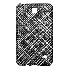 Grid Wire Mesh Stainless Rods Samsung Galaxy Tab 4 (8 ) Hardshell Case