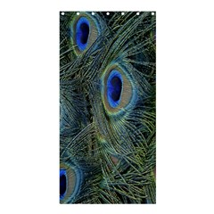 Peacock Feathers Blue Bird Nature Shower Curtain 36  X 72  (stall)