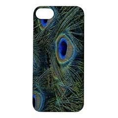 Peacock Feathers Blue Bird Nature Apple Iphone 5s/ Se Hardshell Case