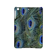 Peacock Feathers Blue Bird Nature Ipad Mini 2 Hardshell Cases
