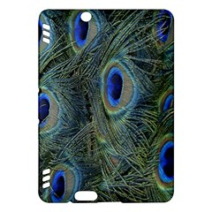 Peacock Feathers Blue Bird Nature Kindle Fire Hdx Hardshell Case