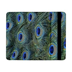 Peacock Feathers Blue Bird Nature Samsung Galaxy Tab Pro 8 4  Flip Case