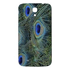 Peacock Feathers Blue Bird Nature Samsung Galaxy Mega I9200 Hardshell Back Case