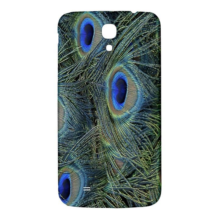Peacock Feathers Blue Bird Nature Samsung Galaxy Mega I9200 Hardshell Back Case