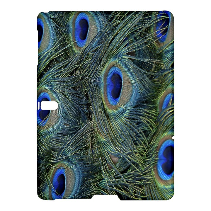 Peacock Feathers Blue Bird Nature Samsung Galaxy Tab S (10.5 ) Hardshell Case