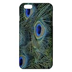 Peacock Feathers Blue Bird Nature iPhone 6 Plus/6S Plus TPU Case Front