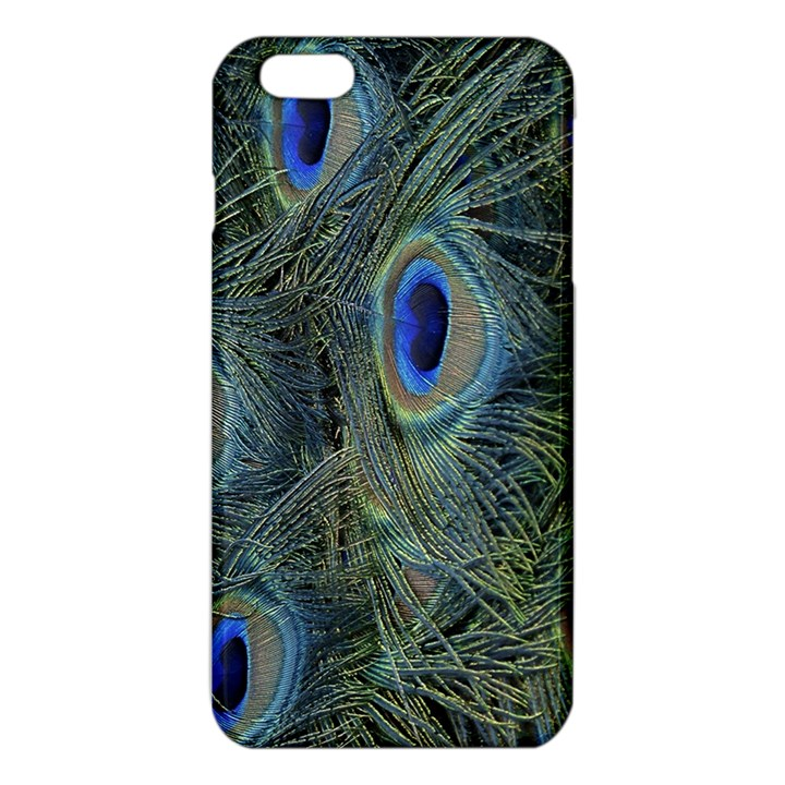 Peacock Feathers Blue Bird Nature iPhone 6 Plus/6S Plus TPU Case