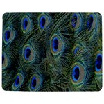 Peacock Feathers Blue Bird Nature Jigsaw Puzzle Photo Stand (Rectangular) Front