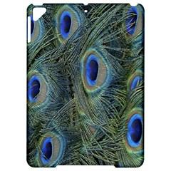 Peacock Feathers Blue Bird Nature Apple Ipad Pro 9 7   Hardshell Case