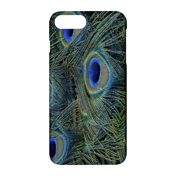 Peacock Feathers Blue Bird Nature Apple iPhone 7 Plus Hardshell Case