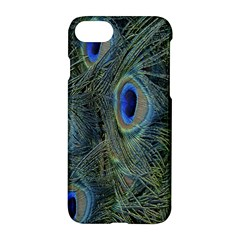 Peacock Feathers Blue Bird Nature Apple Iphone 7 Hardshell Case