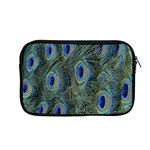 Peacock Feathers Blue Bird Nature Apple MacBook Pro 13  Zipper Case Front