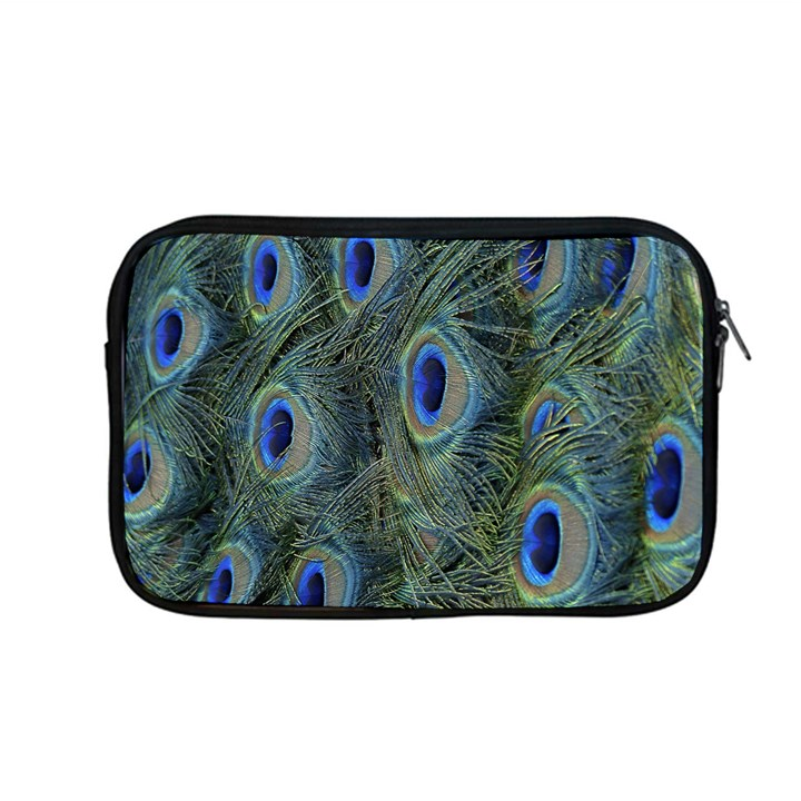 Peacock Feathers Blue Bird Nature Apple MacBook Pro 13  Zipper Case